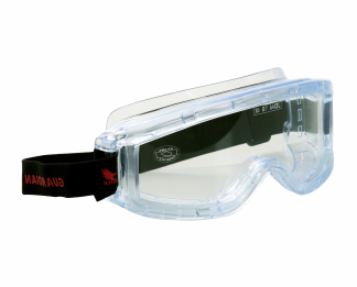 Panoramic safety glasses